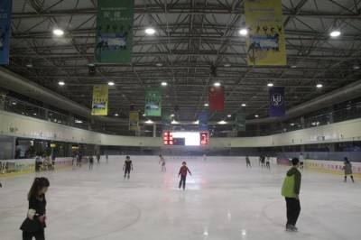 Ice is Nice - Skating Here in Ningbo
