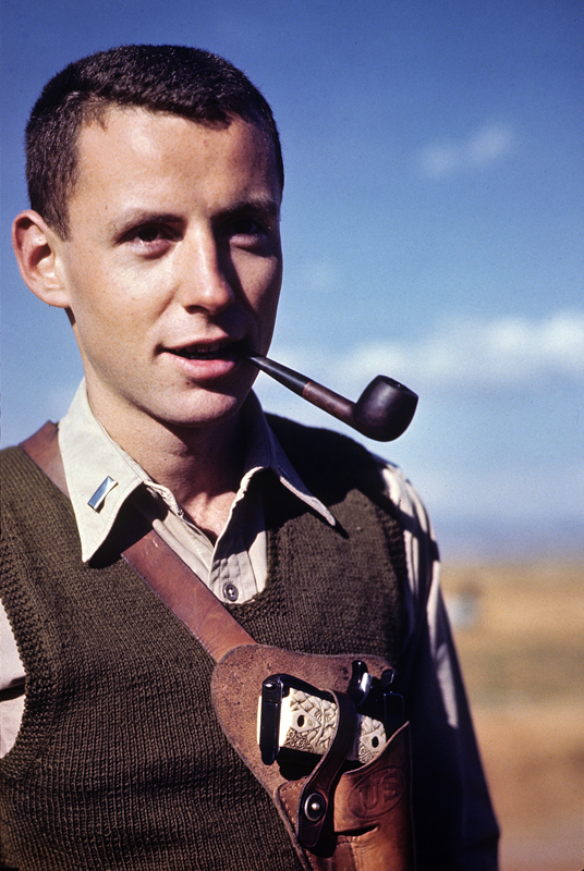 Arthur with vest-pipe-45 1945